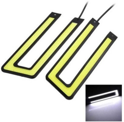 ACCESSOREEZ Waterproof U Shape COB LED DRL for HONDA CITY ZX Car Fancy Lights