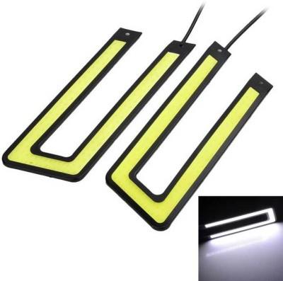 AutoSun Waterproof U Shape COB LED DRL for Hyundai Elentra Car Fancy Lights