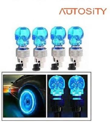 AUTOSiTY Volkswagen - Vento, Skull Tire LED, Car Fancy Lights