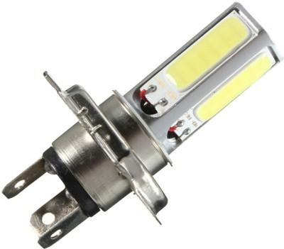 Vheelocityin Led Cob White Light Bike Headlight Bulb / Motorcycle Bulb For Bajaj New Discover 125 Car Fancy Lights