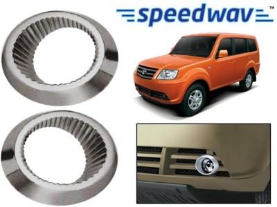 Speedwav 23125 Tata Sumo Grande Fog Lamp Rims Chrome TATA Aveo Sumo Rear Garnish
