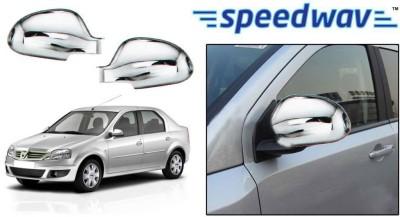 Speedwav 22913 Mirror Covers Set of 2 Chrome Mahindra Verito Front Garnish
