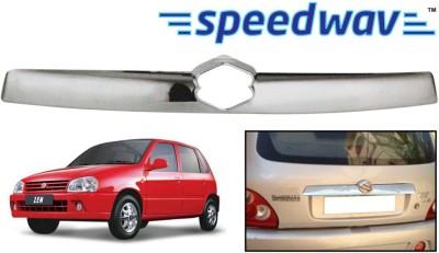 Speedwav 23107 Maruti Suzuki Zen (New Model) Rear Garnish Chrome Maruti Zen Rear Garnish