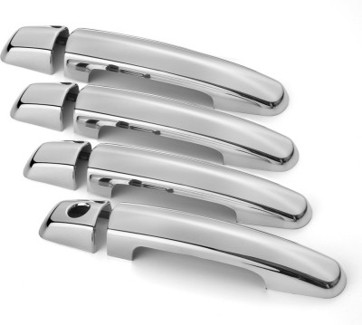Speedwav 21742 Car Door handle Covers Set of 4 Chrome Maruti Swift Side Garnish