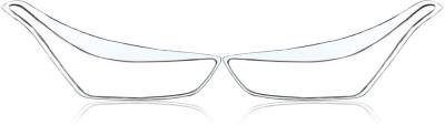 Auto Pearl Premium Quality Chrome Plated Head Light Cover For - HN Chrome Hyundai ML Front Garnish