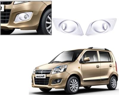 Auto Pearl Premium Quality Chrome Plated Fog Lamp Cover For -Maruti Suzuki WagonR -K10 Car Grill Cover