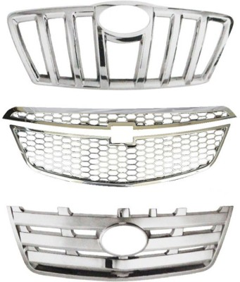 Speedwav 23042 Front Chrome Grill Covers Car Grill Cover