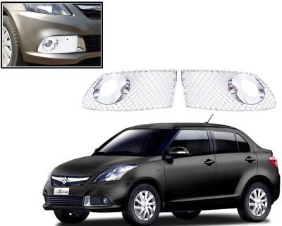 Auto Pearl Premium Quality Chrome Plated Fog Lamp Cover For -Maruti Suzuki Swift Dzire 2015 Car Grill Cover
