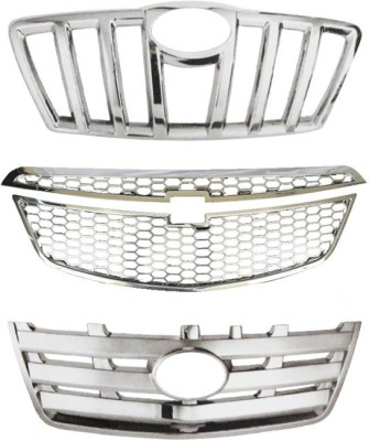 Speedwav 23045 Front Chrome Grill Covers Car Grill Cover