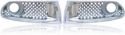 Auto Pearl Premium Quality Chrome Fog Lamp _MSDz Car Grill Cover