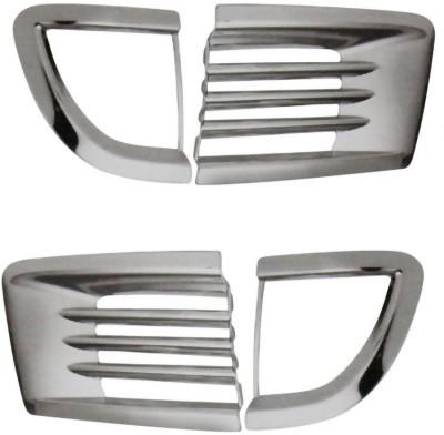 Auto Pearl Premium Quality Chrome Fog Lamp _MX Car Grill Cover
