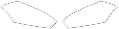 Auto Pearl TLCM105 - Datsun GO Premium Quality Chrome Plated Head Light Cover Car Grill Cover