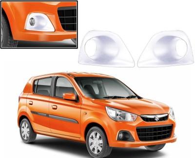 Auto Pearl Premium Quality Chrome Plated Fog Lamp Cover For -Maruti Suzuki Alto K10-2014 Car Grill Cover
