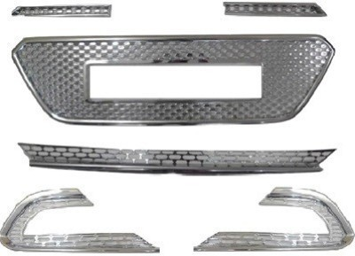 MEXUSS MXSFG-26 Car Grill Cover(Plastic Hyundai Elite i20)
