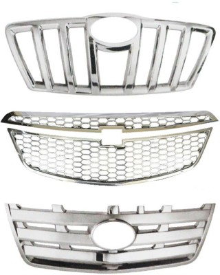 Speedwav 23046 Front Chrome Grill Covers Car Grill Cover