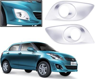 Auto Pearl Premium Quality Chrome Plated Fog Lamp Cover For -Maruti Suzuki Swift Dzire 2012 Car Grill Cover