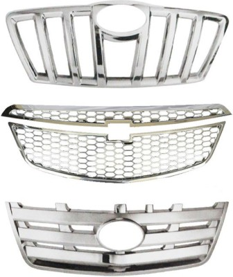 Speedwav 23049 Front Chrome Grill Covers Car Grill Cover