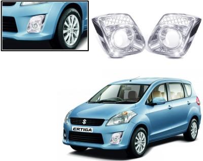 Auto Pearl Premium Quality Chrome Plated Fog Lamp Cover For -Maruti Suzuki Ertiga Car Grill Cover