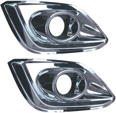 Auto Pearl Premium Quality Chrome Fog lamp _MS Car Grill Cover