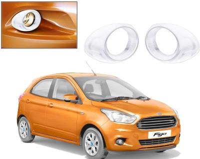 Auto Pearl Premium Quality Chrome Plated Fog Lamp Cover For -Ford Figo 2015 Car Grill Cover