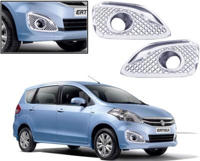 Auto Pearl Premium Quality Chrome Plated Fog Lamp Cover For -Maruti Suzuki Ertiga (2015) Car Grill Cover