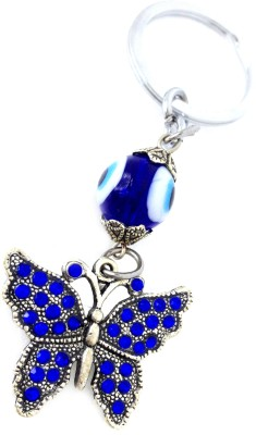 Discount4product bluediomandbutterfly Car Hanging Ornament
