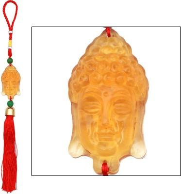 Speedwav Crystal Gautam Budh - Yellow Car Hanging Ornament(Pack of 1)