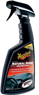 Meguiar's Natural Shine Vinyl and Rubber Protectant IA270101453 Vehicle Interior Cleaner(473 ml)
