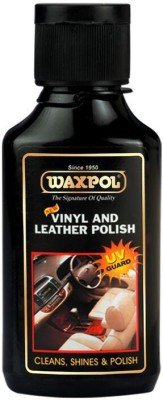 Waxpol Vinyl Leather And Dashboard Polish AVL920 Vehicle Interior Cleaner(125 g)