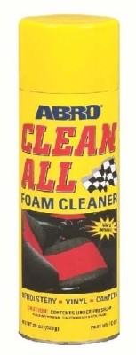 Abro Clean All Foam Cleaner FC-577 Vehicle Interior Cleaner