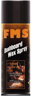 FMS FMS Car Dashboard Wax Spray for Leather Seat, Dashboard, Plastic, Rubber and Tyres 20501 Vehicle Interior Cleaner