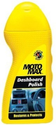 MotoMax Dashboard Car Polish 100ml Vehicle Interior Cleaner