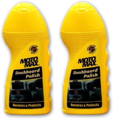 Motomax Dshbrd-02 Dashboard Polish (Pack of 2) Vehicle Interior Cleaner
