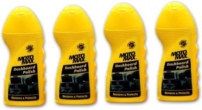MotoMax Dshbrd-04 Dashboard Polish (Pack of 4) Vehicle Interior Cleaner