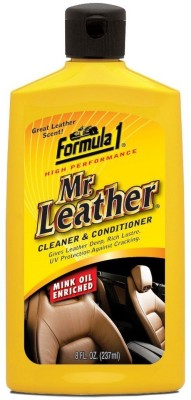 Formula 1 Mr Leather Lotion 615155 Vehicle Interior Cleaner(237 ml)