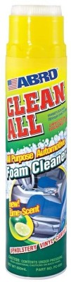 Abro Clean All Foam Cleaner Lime Scent FC-650 Vehicle Interior Cleaner