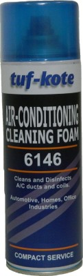 Tufkote 6146 A/C Cleaning Foam, Vehicle Interior Cleaner