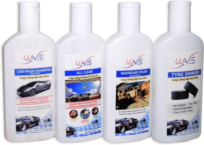 Auto Hub Car Care Combo Kit Combo_KIT Vehicle Interior Cleaner(125 ml)