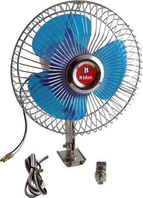 Bidas High Quality 6 Inch 12V Oscillating Auto Cooling Car Interior Fan