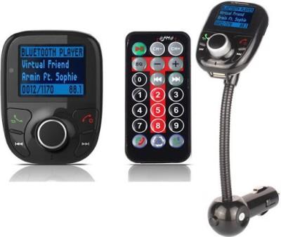 MDI v3.0 Car Bluetooth Device with FM Transmitter