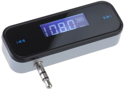 ZVR v1.2 Car Bluetooth Device with FM Transmitter(Black)