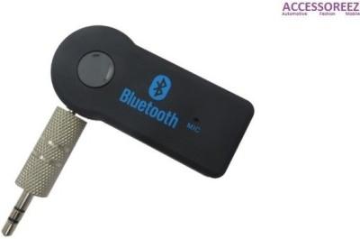 ACCESSOREEZ v3.0 Car Bluetooth Device with Audio Receiver, USB Cable