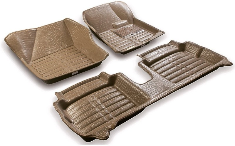 AutoParx Plastic Car Mat For Audi Q3(Beige)