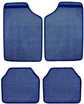 Vheelocityin Rubber Car Mat For Tata Sumo(Blue)