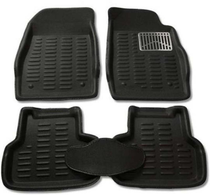 CP Bigbasket Plastic Car Mat For Honda City(Black)