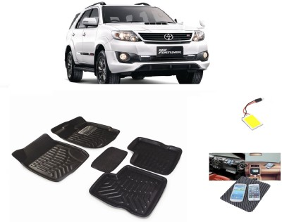 ShopAddict PVC Car Mat For Toyota Fortuner