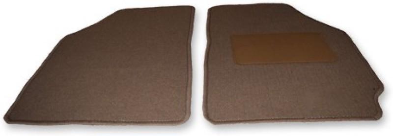 Auto Hub Fabric Car Mat For Honda Accord(Beige)