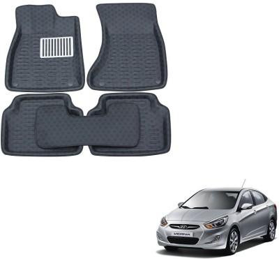 Everything Auto PVC Car Mat For Hyundai Fluidic Verna