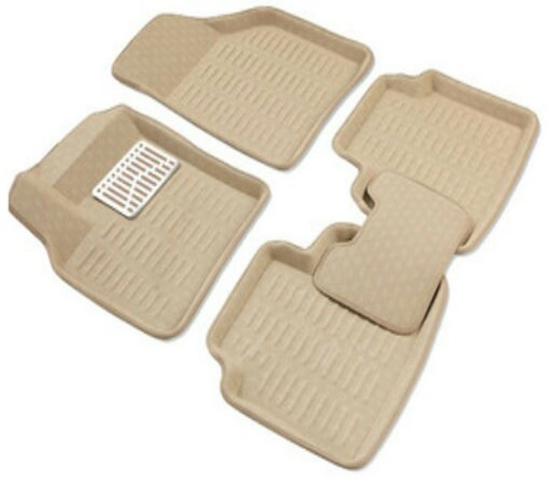 AutoParx Vinyl Car Mat For Audi A4(Beige)