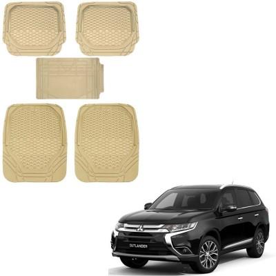 Kozdiko Rubber, PVC Car Mat For Mitsubishi Outlander(Beige)